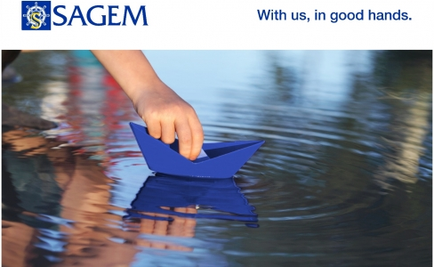Sagem with us in good hands